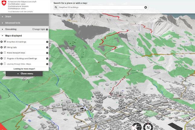 Swiss NSDI portal